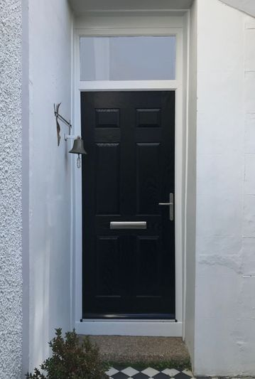 Black Composite Door Penzance