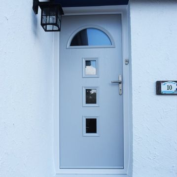 Pale Grey Composite Door