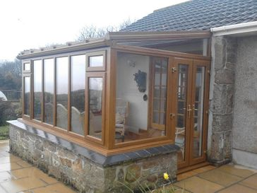 Golden Oak Conservatory